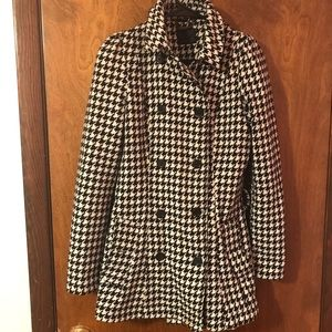 Forever 21 houndstooth peacoat